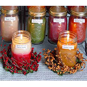 Country Heart Soy Candles