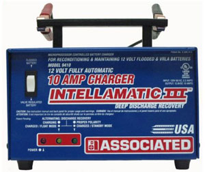 Associated Equipment 12V 10 Amp Portable Charger