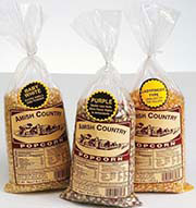Amish Country Popcorn offers thirteen different types of popcorn each of the highest quality to satisfy the taste of the individual customer. We encourage you to try several of our popcorns and to decide for yourself.