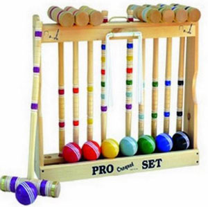 Amish Crafted Pro Croquet Game Set