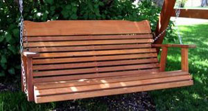 Kilmer Creek Cedar Porch Swing