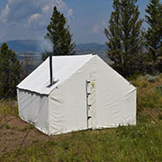 We provide our customers with the best tent on the market. Our designs are the result of extensive field testing by our expert field staff and professional guides who rely on our products. We are also proud to carry a fine line of camp stoves and other equipment.