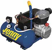 Jenny Products Inc 1.5 Gallon Tank 2 HP Electric Hand Carry Portable Air Compressor