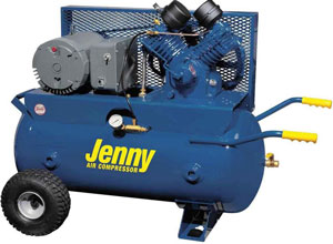 Jenny Air Compressors - USA made models