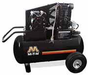 Mi-T-M 1.5 HP Electric / 20 Gallon Single Stage Wheelbarrow Air Compressor