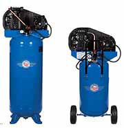 Quincy Compressor is a leading designer and manufacturer of reciprocating and rotary screw air compressors ranging from one-third to 350 horsepower; vacuum pumps and a full line of air treatment components.