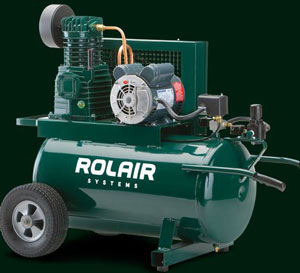 Rolair Compressors have a tradition of excellence with over 45 years of experience in designing and building compressors for the professional contractor. They are committed to continuing this tradition by analyzing and adapting to the changing needs and rigorous demands of the industry. Every compressor sold by Rolaid is subjected to a stringent series of tests, both in the factory and in the field.