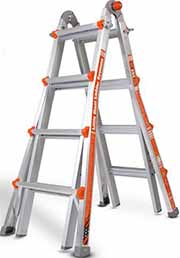 With Little Giant Ladders you'll enjoy the strengths of traditional A-frame ladders, extension ladders, stepladders and even scaffolding, all in one convenient package. Plus, when you buy now, you'll get FREE Shipping on your order!*